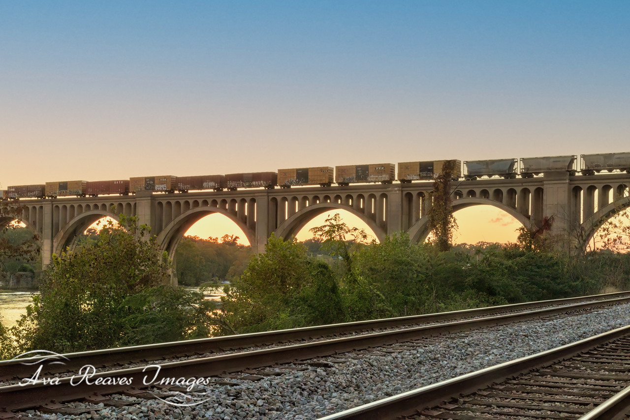 The A-Line RailRoad Bridge