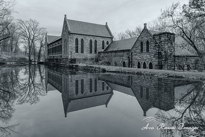Winter Reflections at The Pump House