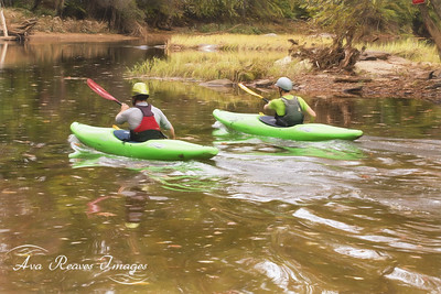 Kayaking at Reedy Creek