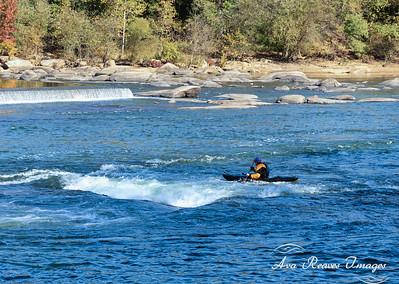 Kayaking At The Z-Dam