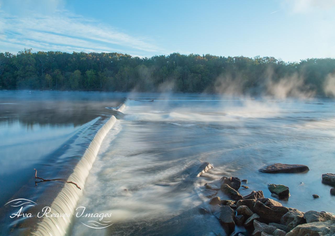 Misty On The Z-Dam