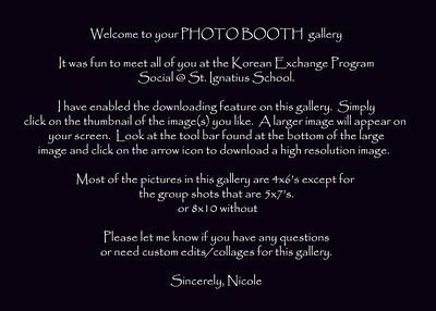 gallery description Korean Exchange program