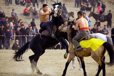 Kyrgyzstan Horse Wrestling