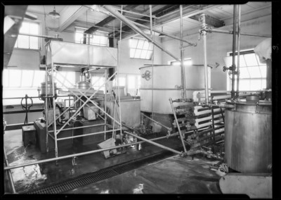 1931, Co-Operative Dairy Interior