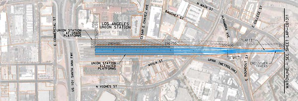 2011, Union Station Diagram