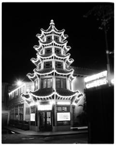 1950s, Night Pagoda