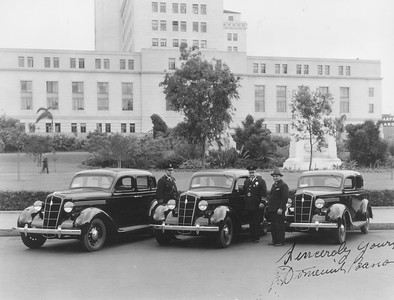 1935, New Police Cars