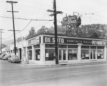 1940s, Dealership on North Broadway