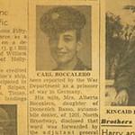 1945, POW Joe Boccalero