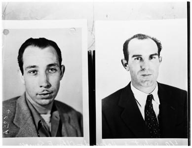 1952, Patricia Moore Case Mug Shots