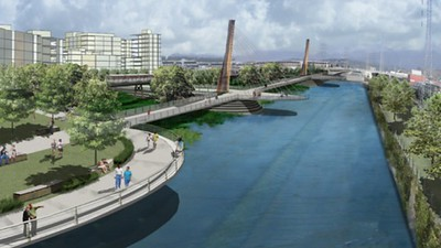 2007, LA River Revitalization Alternative Rendering