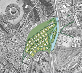 2007, LA River Revitalization Preferred Alternative Map