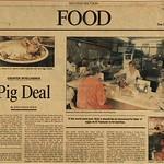 1994, LA Times Food Article