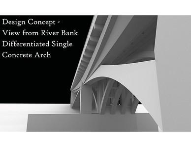 2011, Single Concrete Arch Design