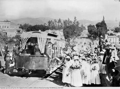 1888, Downey Cable Car Opening
