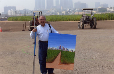 2005, Cornfield Painter