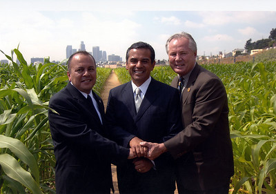2005, Reyes, Villaraigosa, and LaBonge
