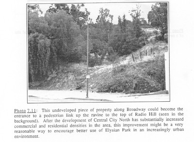 1990, Proposed Trailhead