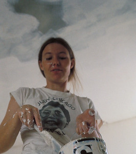 1975, Faith Painting Walls