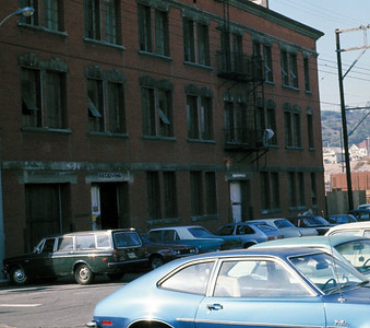 1975, Side View of Spring St Building