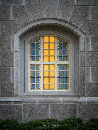 Philadelphia Temple, Window Detail