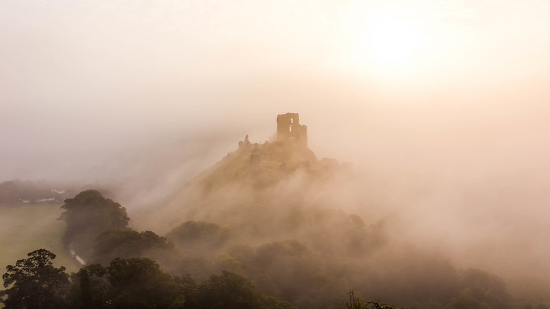 Castle in the mist