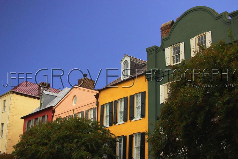 Rainbow Row, Charleston, SC