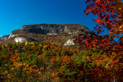 Fall At Whiteside Mountain