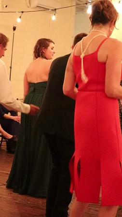 Lauren dancing at Chris and Sarah's wedding, Fort Worth, TX (Nov 2017)