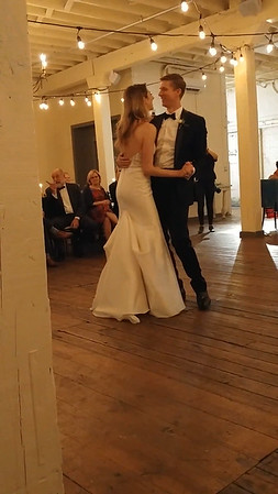 Chris and Sarah's first dance at their wedding, Fort Worth, TX (Nov 2017)