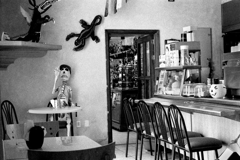 Diner. Oaxaca, Mexico. 2002.