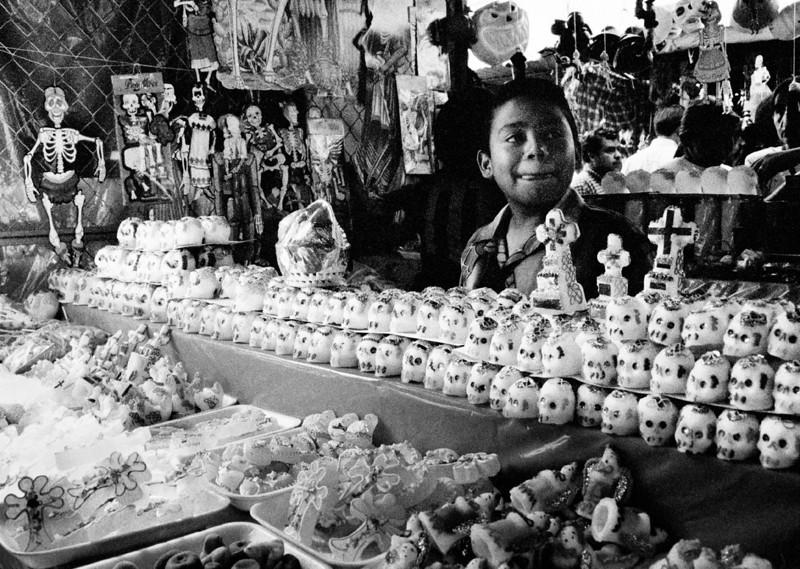 Sugar Skulls, Mercardo de Abastos. Oaxaca, Mexico. 2002.