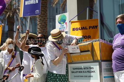 Long Beach Suffrage 100 Marks Women's Equality Day 2021