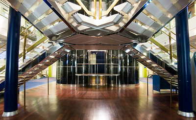 M/S Silja Europa's lobby