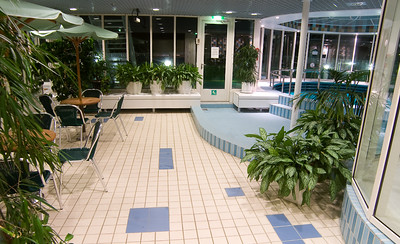 M/S Silja Europa's swimming pool department's lobby