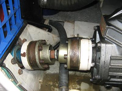 Prop shaft driveline