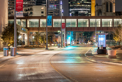 Nicollet Mall, after shut down