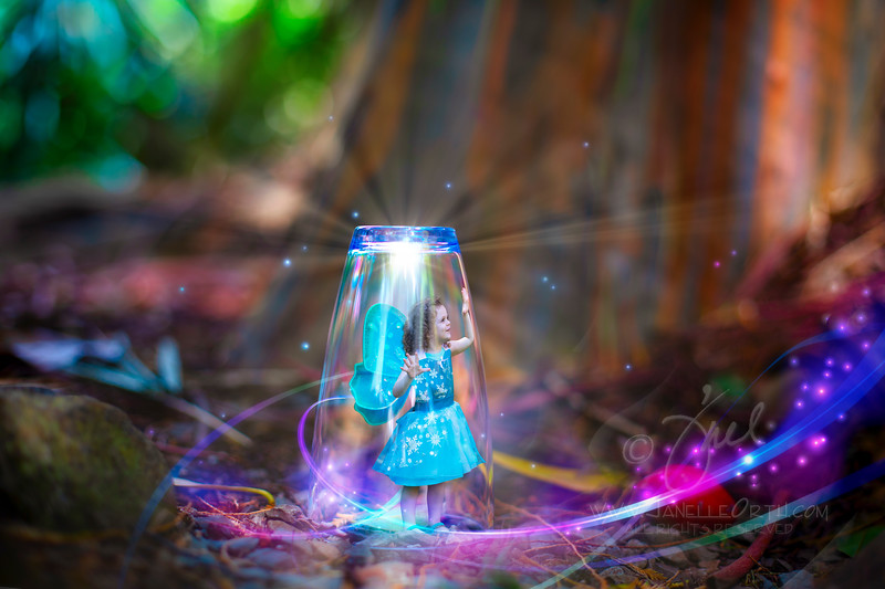 Fairy Under Glass  ©2018. Janelle Orth