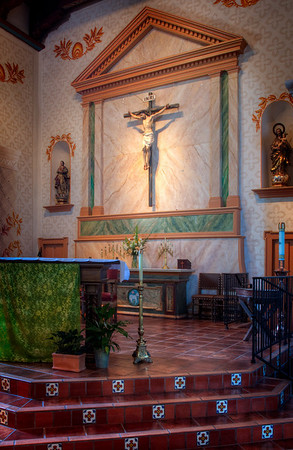 Chancel, Mission San Luis Obispo, CA