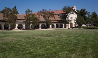 Exterior, Mission San Juan Bautista, CA