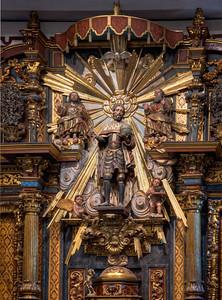 Reredos, Mission San Fernando Rey de España