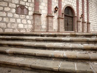 Steps, Mission Santa Bárbara, CA