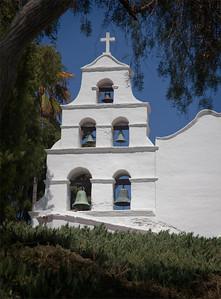 Campanario, Mission San Diego de Alcalá, CA