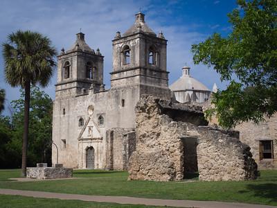 Mission Conceptión, San Antonio TX