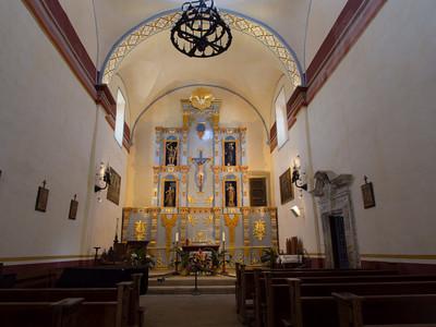 Interior, Mission San José, San Antonio, TX