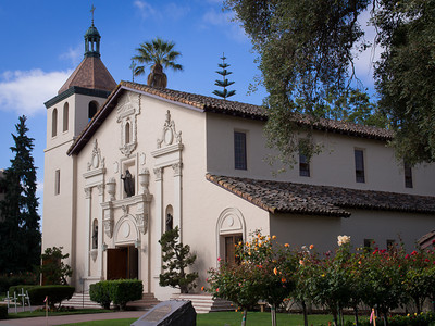Exterior, Mission Santa Clara, CA