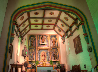 Chancel, Mission San Gabriel Arcángel, CA