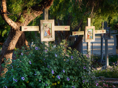 Stations of the Cross, Mission Santa Ines, CA
