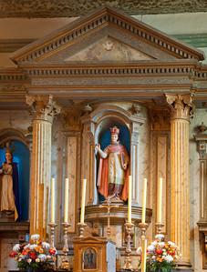 Reredos, Mission San Buenaventura, CA