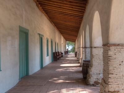 Walkway, Mission San Juan Bautista, CA